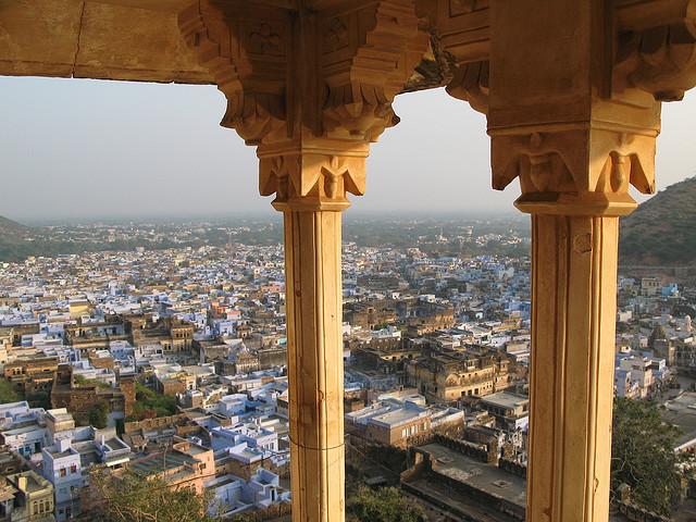 Blick über Bundi - Rajasthan / Indien